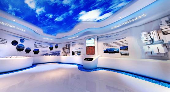 展厅装修设计注意事项都有哪些?南京林业园林景观v展厅图片